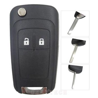 Guscio Chiave Cover Telecomando Chevrolet Cruze Aveo Spark Captiva Matiz 2 Tasti 4