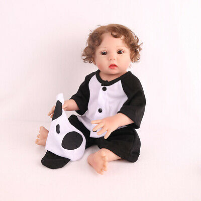 "16"" Lifelike Reborn Baby Doll Full Body Silicone Anatomically Xmas Gifts Dolls 7"