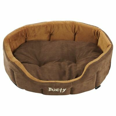 Bunty Lounger Dog Bed Soft Washable Fleece Fur Cushion Warm Luxury Pet Basket 4