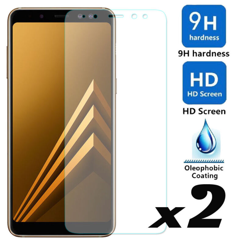 For Samsung Galaxy A8/A8Plus /J8 2018 9H Tempered Glass Film Screen Protector Y1 2