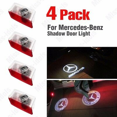 Projector Door CREE LED Courtesy Light Puddle Ghost Laser LOGO For Mercedes Benz 2