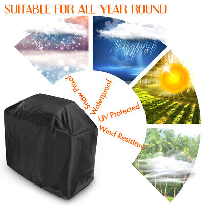 XS-XXL BBQ Cover Heavy Duty Waterproof Medium Barbecue Grill Outdoor Protector 3