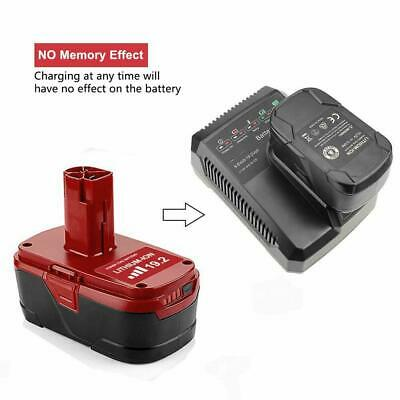 2Pcs of Craftsman 19.2V XCP Lithium-ion C3 Diehard Battery 11375 PP2025 PP2030 9