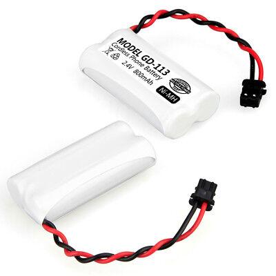 Cordless Phone Battery 1 PCS For Uniden BT-694, BT-694S 800mAh 2.4V TELSTRA V850