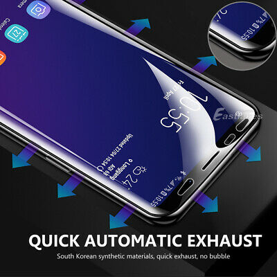 HYDROGEL Screen Protector Samsung Galaxy S10 5G S9 S8 Plus Note 10+ 8 9 S7 Edge 7