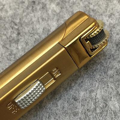 Lot 5pcs  Windproof  Jet  Torch Lock Flame Cigar Cigarette Flint Lighter Gold 6