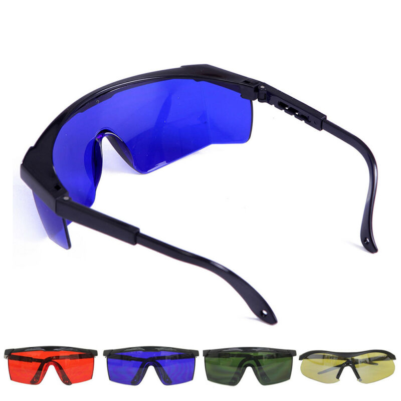 Multicolor Laser Eye Glasses Protection Safety Goggles Large Polycarbonate Lens 3