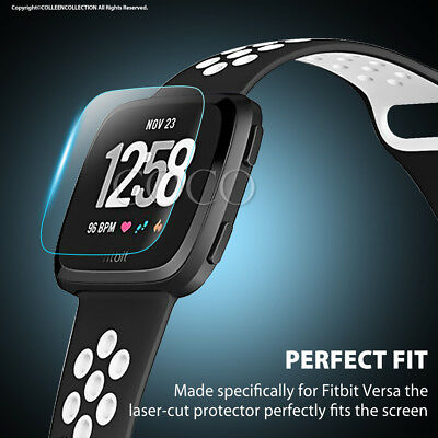 1x/2x/3x/4x Fitbit Versa Lite Screen Protector 9H Tempered Full Coverage Glass 5