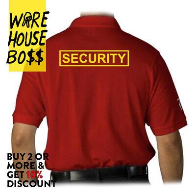 d4f2964b ... Mens Security Polo T Shirt Guard Law Enforcement Shirts Work Uniform  Event Party 3