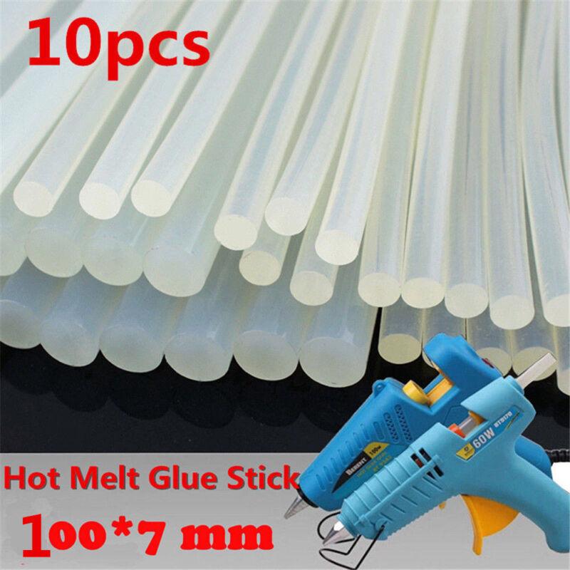 10PCS Bulk Hot Melt Stick 7mm x 100mm for Craft Electric Tool Heating Glue Gun 2
