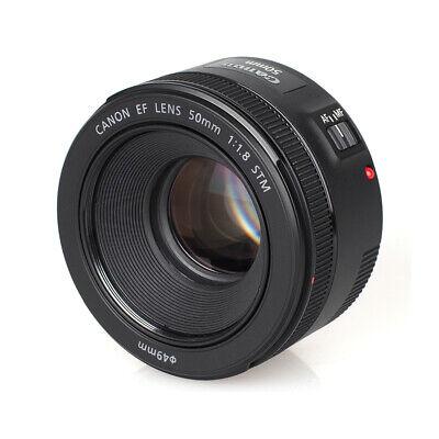 Canon Obiettivo Attacco EF 50mm f/1.8 STM SLR, Nero 2