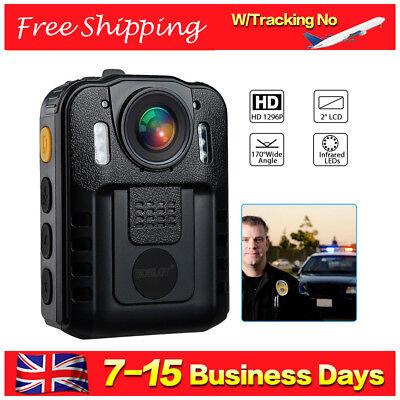 Boblov 32GB Police Body Worn Camera DVR HD 1296P IR Night Vision 170° Waterproof 2