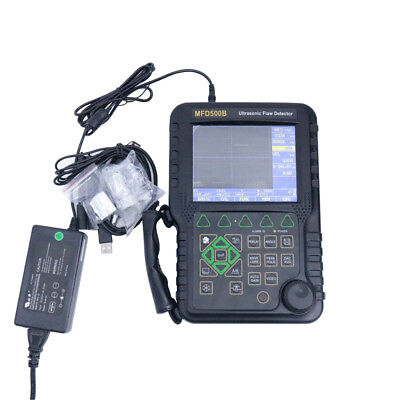 Brand New Handheld Ultrasonic Flaw Detector MFD500B NDT Up to 9999 mm