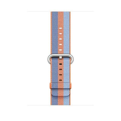 Genuine Apple Watch Woven Nylon Band (38mm, Orange Stripe) - New Other!