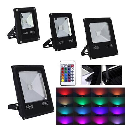 10W 20W 30W 50W LED RGB Projecteur Projecteur Spot Extérieur Projecteur IP65 SMD 4