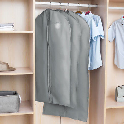 1/5/10Pc Garment Suit Bags Dress Clothes Coat Cover Breathable Protector Storage 4