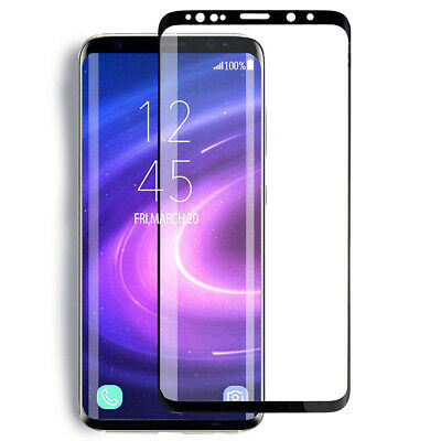 For Samsung Galaxy S9 S8 Plus - FULL COVER 3D Tempered Glass Screen Protector 6