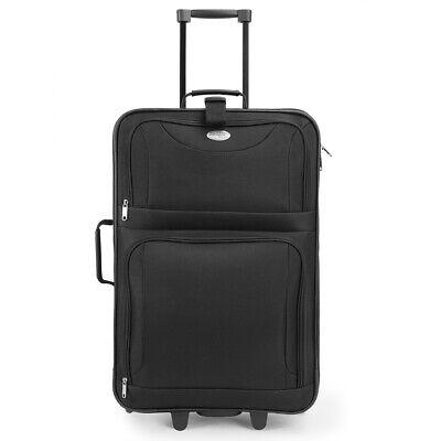 Kofferset Reisekoffer 5 Taschen Trolley Reise Koffer Set Tasche S M L XL schwarz 9
