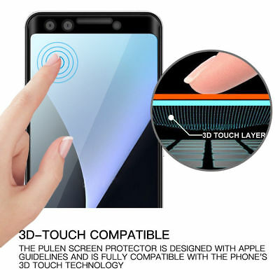 3D Full Coverage Tempered Glass Screen Protector For Google Pixel 2 3 XL 2XL 3XL 9