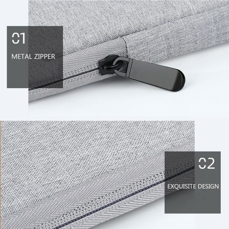 Shockproof Notebook Case Sleeve Laptop Bag Cover For MacBook HP Dell Lenovo 8
