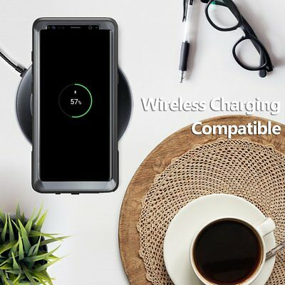 """Poetic Guardian """"Rugged Heavy Duty"""" Case Cover For Samsung Galaxy Note 8 Black 8"""