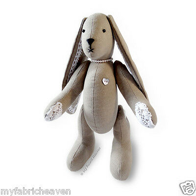 LACY BUNNY SEWING PATTERN Floppy Eared Bunny Rabbit 11\