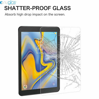 "Genuine Nuglas Tempered Glass Screen Protector for Samsung Galaxy Tab A 8.0""2018 8"