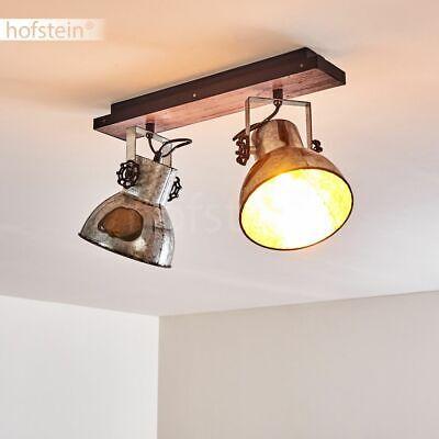 3-flammige Wohn Schlaf Zimmer Leuchten Flur Strahler rostfarbene Decken Lampen