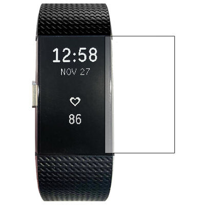 ScreenKnight FITBIT CHARGE 2 / ii - SCREEN PROTECTOR Military Shield - PACK OF 6 3