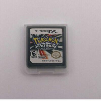 HOT Pokemon Platinum Version Game Card For Nintendo 3DS NDSI NDS NDSL Lite New 2