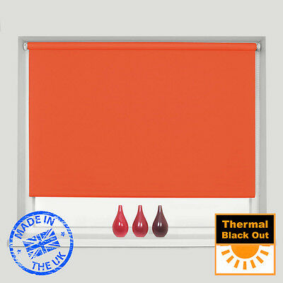 Mtm Made To Measure 100% Thermal Blackout Roller Blinds - Easy To Fit 8