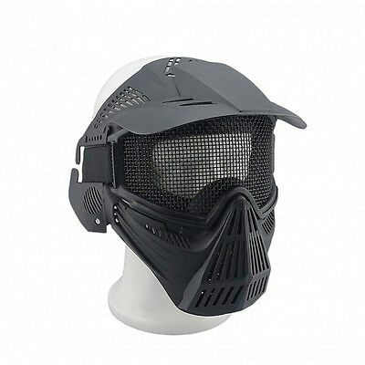 Tactical Airsoft Full  Face Protection Safety Mask Guard