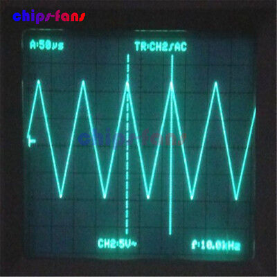 DDS Function Signal Generator Sine+Triangle + Square Wave Frequency 1HZ-500KHz 10