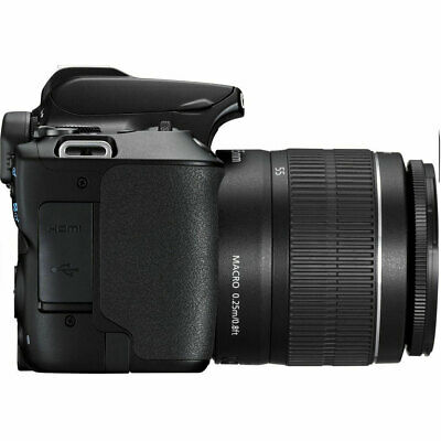 Canon EOS 250D / SL3 with EF-S 18-55mm f/3.5-5.6 III Lens (Black) 5