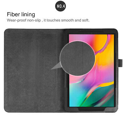"""Case For Samsung Galaxy Tab A 10.1"""" 2019 SM-T510/T515 Tablet Leather Stand Cover 10"""
