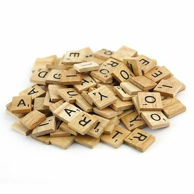 2 Of 3 A To Z Wooden Scrabble Tiles Letter Individual Letters Tile Craft Game