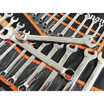 NDI Combination Spanner Set 30 Piece Chrome Vanadium Steel Metric & Imperial 5