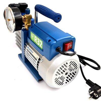 3S POMPA del VUOTO MONOSTADIO 70 LT min PER GAS R32 R1234YF CLIMATIZZATORE NUOVA 4