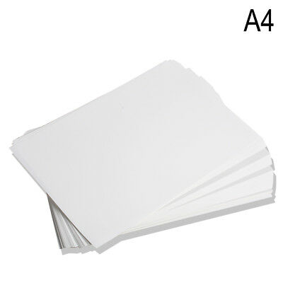 100pc A4 Sublimation Paper Iron On Heat Press Transfer Paper inkjet Print Tshirt 3