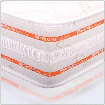 MATERASSO MIASUITE MATRIMONIALE Memory Foam 6 Cm 160X190 Alto 25 Cm ...