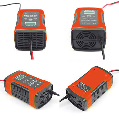 Car Battery Charger 12V 5A LCD Intelligent Automobile Motorcycle Pulse Repair UK 6