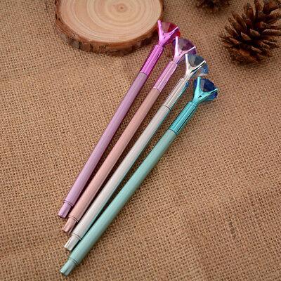 Coloful Diamond Pen Creative Big Crystal Ballpoint Pens Stationery Office Supply 9