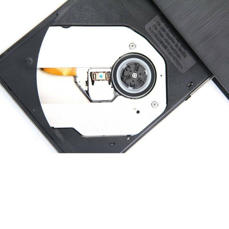Slim USB 2.0 External CD-RW DVD ROM Drive Writer Reader Burner For Laptop PC UK 9