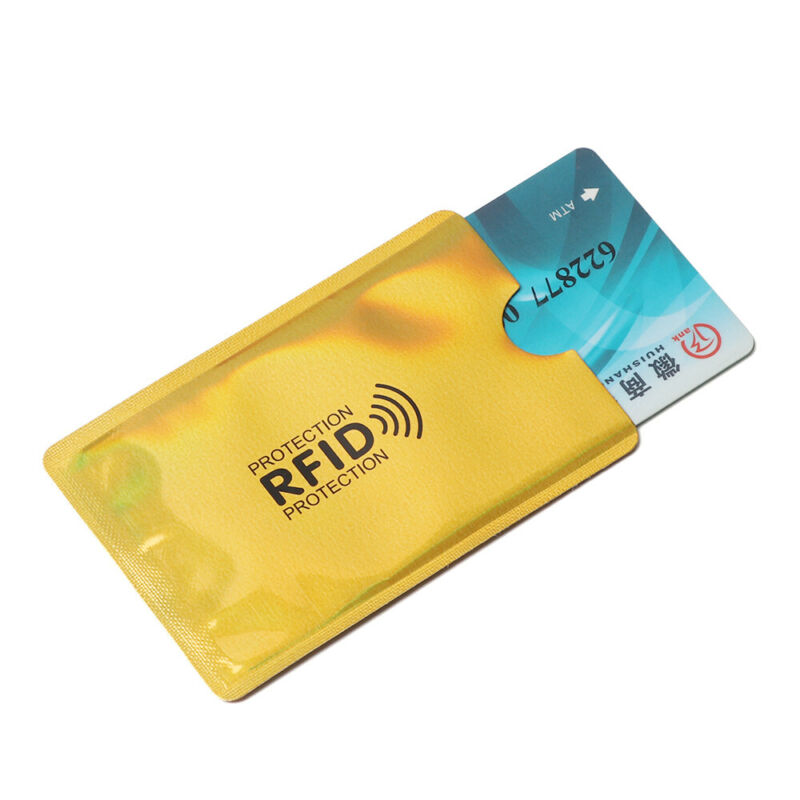 Credit Cards Card Holder Protect Case Cover RFID Blocking Sleeve Wallet 5
