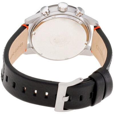 Citizen Eco-Drive Primo Men's Chronograph Black Leather 45mm Watch CA0681-03E 3