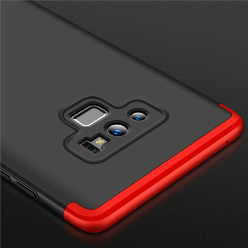 For Samsung Galaxy Note 9/8/S9/S8/S7/Plus/Shockproof 360° Case+Screen Protector 5