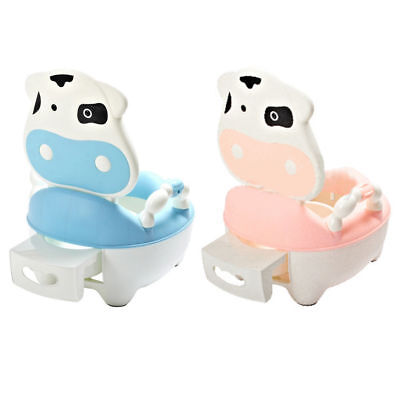 Training Potty Trainer Safety Kids Baby Toddler Toilet Cute Cartoon Seat Chair 7