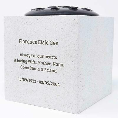 Personalised Customised Memorial Graveside Flower Rose Bowl Vase Pot 11