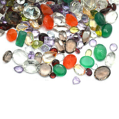 AAA Mixed Gems Semi Precious Loose Natural Gemstones Lots Faceted Cut (MX-60003) 10