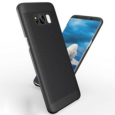For Samsung Galaxy S8 Plus/S7 Hard Case Thin Shockproof Hybrid Phone Cover Skin 11